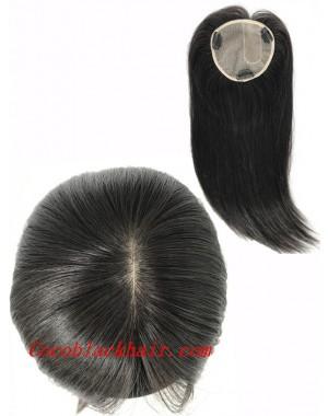 5inchesx5inches U shape silk base topper hair pieces[TP03]