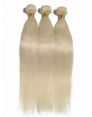 Brazilian virgin silky straight wefts color #60
