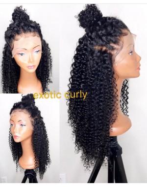 Helen-Brazilian virgin exotic curly full lace wig