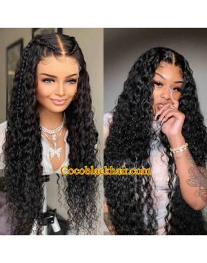 Angela 05-5x5 HD lace closure wig curl wave Brazilian virgin hair