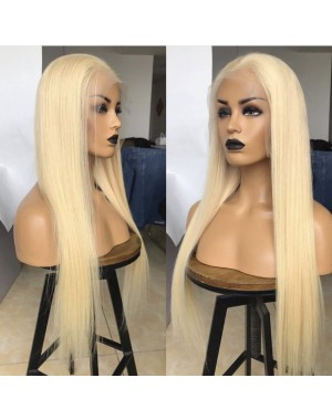 Ebonee-Brazilian virgin 613 color glueless lace front wig