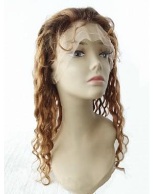 Wendy- Brazilian virgin hair #3/#30 T12 highlight full lace wig