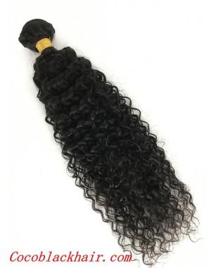 Brazilian virgin 3 bundles deep curly machine wefts