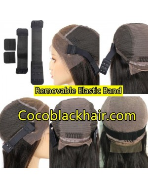 Removable Adjustable Elastic Extra Band For Lace Wigs