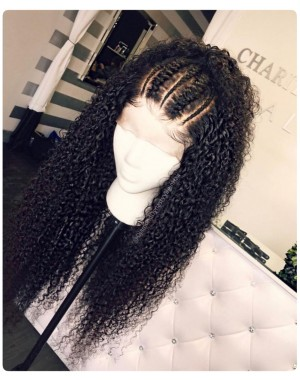 Emily31-Brazilian curly 360 lace frontal wig