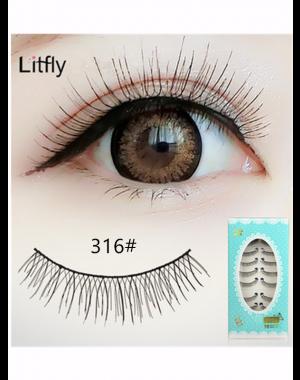 10 pairs Natural long false eyelash-#316
