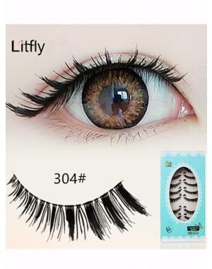 10 pairs Eye end stretched false eyelash-#304