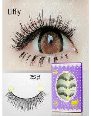 5 pairs Pure manual false eyelashes-#252