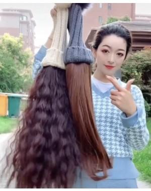 Mila-Hat hair fashion long hair for Autumn Winter whole head cover type
