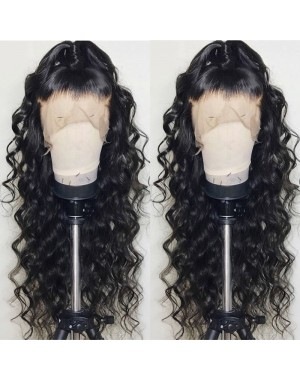 Mavis-Brazilian virgin pre plucked full lace wig