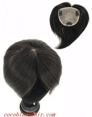 4.5inchesx4inches silk base hair whorl topper hair pieces[tp04]