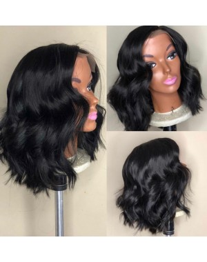 Emily17-Brazilian virgin silky wave 360 bob wig