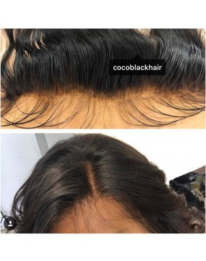 Chinese virgin silky straight lace frontal