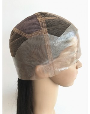 Anna-Thin skin human hiar full lace wig