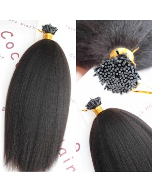 Tips extension 8A grade Brazilian virgin human hair