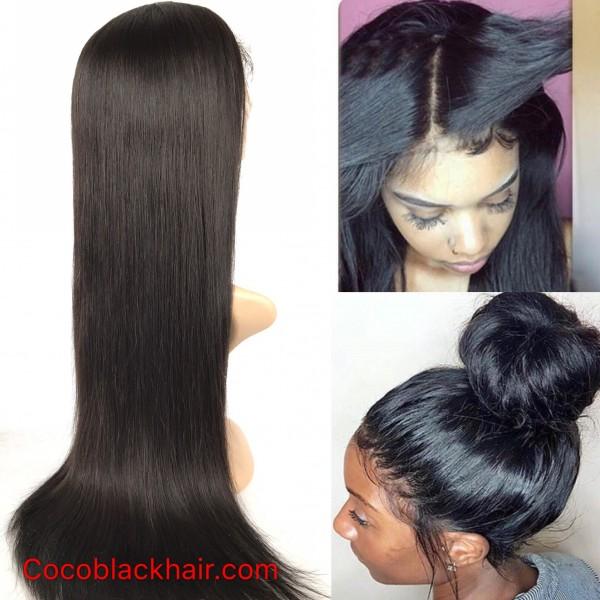 Emily Silky Straight Human Hair Brazilian Human Hair 360 Lace