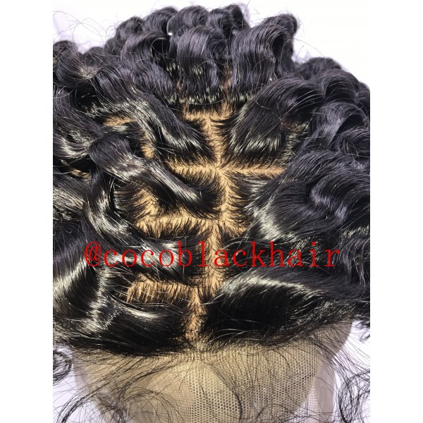 Emily Exotic Curly Hair Brazilian Virgin Human Hair Wig