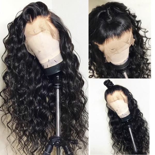 Emily Beachy Wave Brazilian Human Hair Pre Plucked