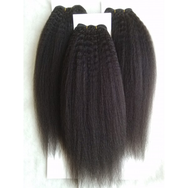 Malaysian Virgin Hair 3 Bundles Italian Yaki Virgin Hair Italian