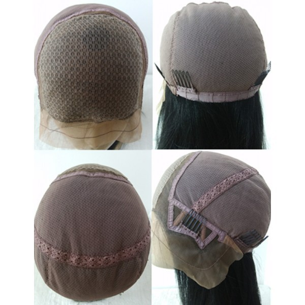 2fd993fa3 Bongo- Brazilian virgin water wave Silk Top Full Lace Wig Wigs For ...