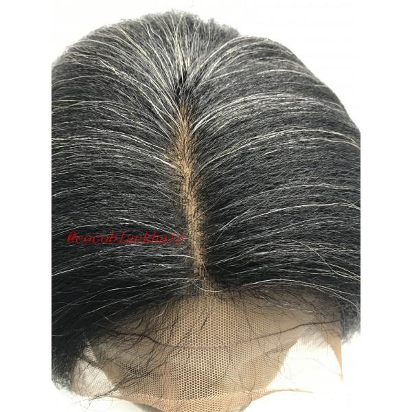 Myrtis Brazilian Virgin Italian Kinky Straight Yaki Hair