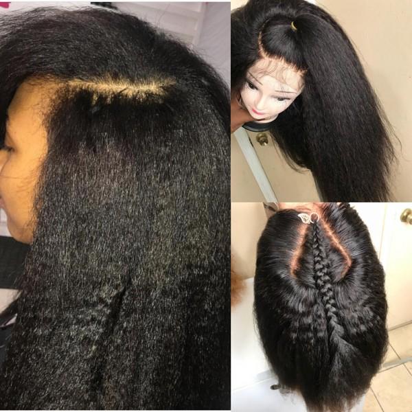 Mona Top Quality Brazilian Virgin Italian Yaki Hair Silk Top Full