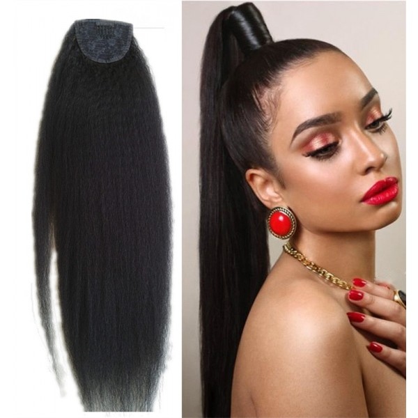 100 Virgin Human Hair Ponytail Human Hair Drawstring Ponytail