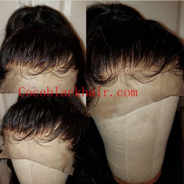 Maya Brazilian Virgin Human Hair Pre Plucked Hairline Full