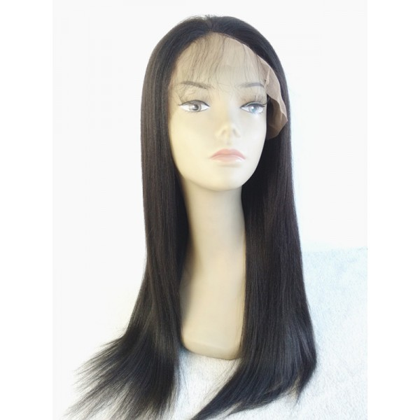 Nora Yaki Straigth Hair Indian Remy Hair Wig Glueless