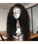 Emily62-pre plucked Brazilian virgin wave 360 wig bleached knots