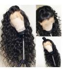 Emily32-Pre plucked Brazilian virgin beachy wave 360 wig