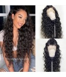 Jody10-Beachy wave 370 wig pre plucked Brazilian virgin human hair