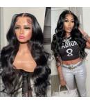 Nova 04-Body wave Brazilian virgin 13x6 wig glueless lace front Pre plucked hairline