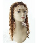 Wendy- Brazilian virgin hair #3/#30 T12 highlight full lace wig