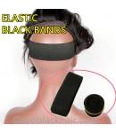 ELASTIC BLACK BANDS - 2 PIECES