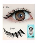 10 pairs Eye end stretched false eyelash-#304