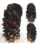 Tanya- Chinese virgin loose wave full lace wig