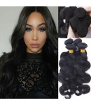 Malaysian virgin 4 bundles body wave hair weaves