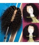 Emily36-Pre plucked Brazilian virgin natural curl 360 wig