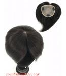 4.5inchesx4inches silk base hair whorl topper hair pieces[tp04]