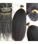 Tips extension 10A grade Brazilian virgin human hair