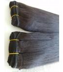Brazilian virgin human hair light yaki wefts