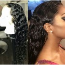Emily04-Brazilian virgin wet wave 360 lace frontal wig