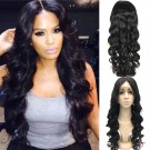 Nelly- Brazilian virgin loose wave middle part full lace wig