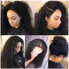 Amy- Brazilian virgin deep curly full lace wig