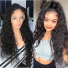 Lorna-Brazilian virgin pre plucked loose deep curly full lace wig