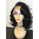 Jenni- Brazilian virgin pre plucked loose wave full lace wig