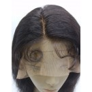 San- Indian remy natural wave full lace wig