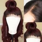 Betty- Brazilian virgin pre plucked Ombre Straight full lace wig