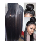 Rita- Brazilian virgin Natural straight glueless full lace wig